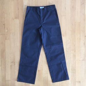 3/$20 sz 14 khakis navy chinos uniform pants